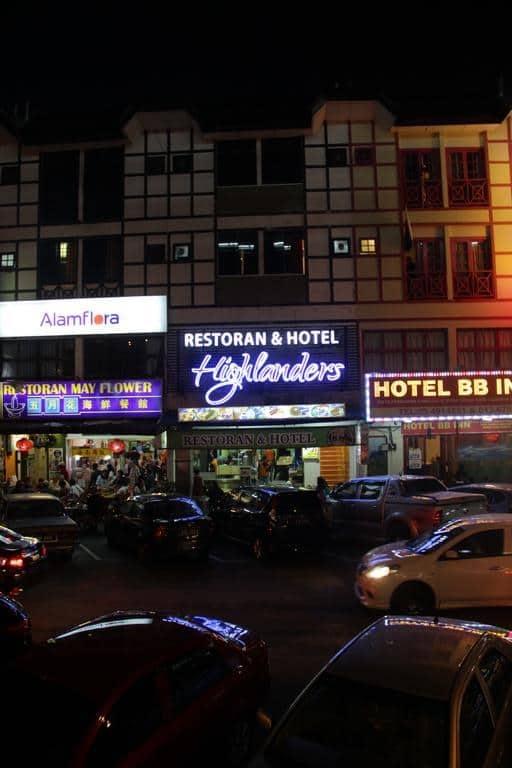 highlanders hotel