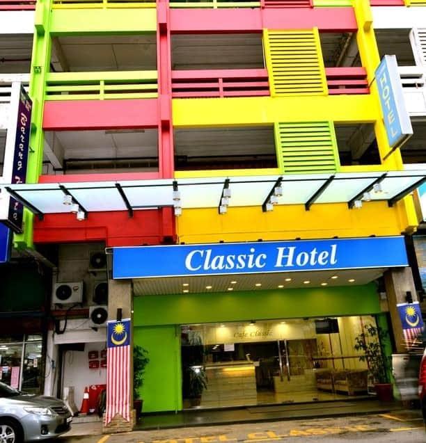 Classic hotel main