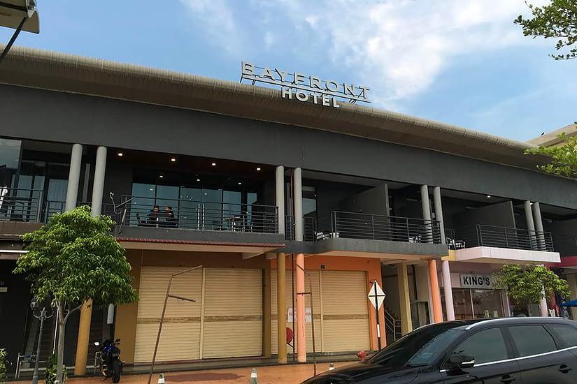 Bayfront hotel main