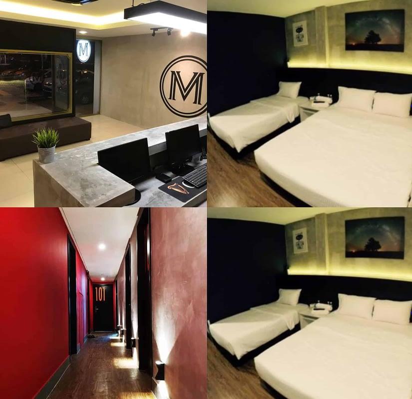 Monaco Boutique Hotel Kampung Air